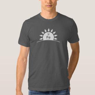 Elevação do ferro tshirt