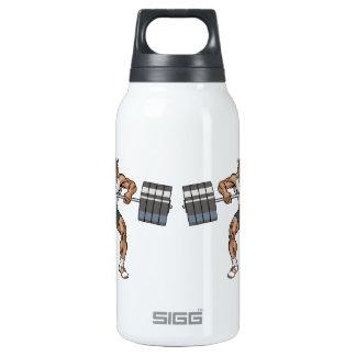 elevador de peso do bisonte garrafa de água térmica