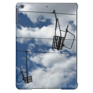 Elevador e céu de esqui capa para iPad air