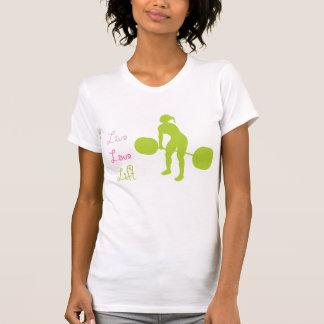 Elevador vivo do amor - Crossfit Camisetas