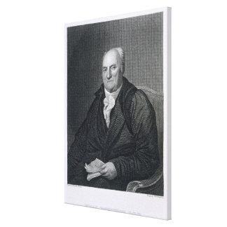 Elias Boudinot, gravado pelo paraíso de John Wesle Impressão Em Tela