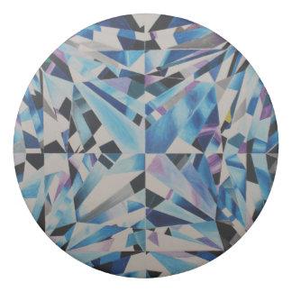 Eliminador redondo do diamante de vidro borracha