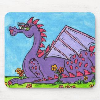 Elizabeth o dragão mousepad