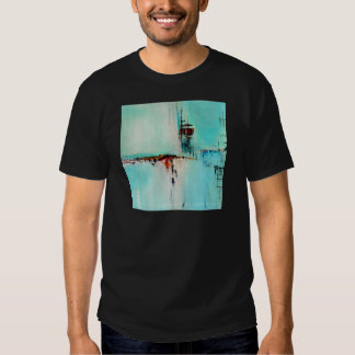Elle-abstract-026-2424-Original-Abstract-Art-Off-S Camiseta