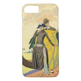 Elle e Lui, 1921 (pochoir) Capa iPhone 7