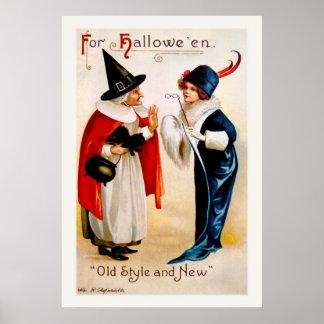 Ellen H. Clapsaddle: Estilo antigo e novo Poster