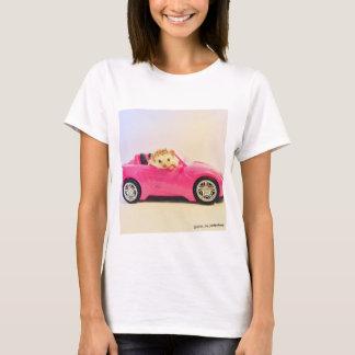elliot a camisa do carro do rosa do ouriço
