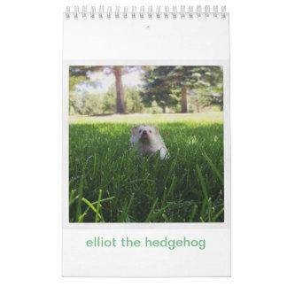 elliot o calendário do ouriço