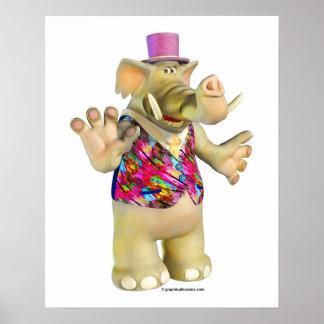 Elliot o elefante poster