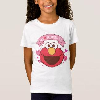 Elmo | meu coração pertence a Elmo Camiseta