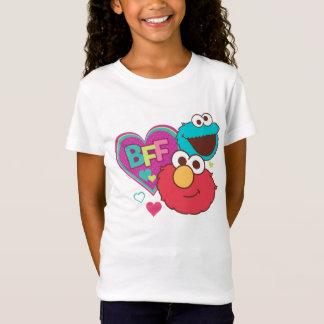 Elmo & monstro do biscoito - BFF Camiseta