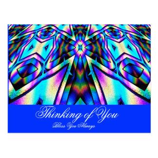 Elogio #! _ cartão postal