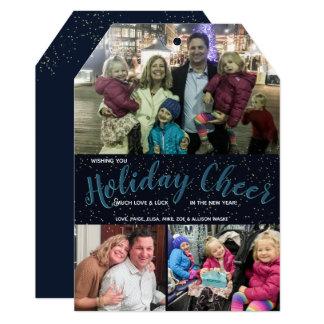 Elogio do feriado - cartão de Natal