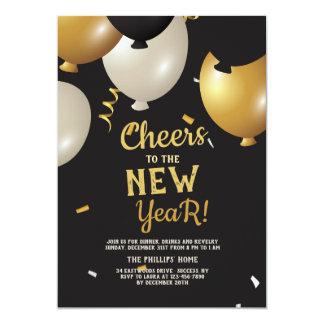 Elogios ao convite do ano novo
