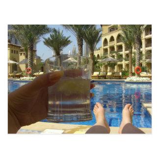 Elogios de Dubai Cartão Postal
