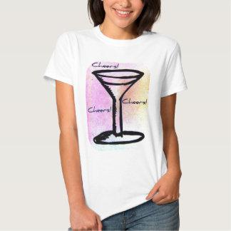 elogios de martini! esboço tshirts