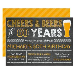 Elogios e cervejas a 60 anos de convite do