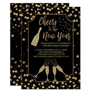 Elogios na moda ao convite de festas do ano novo