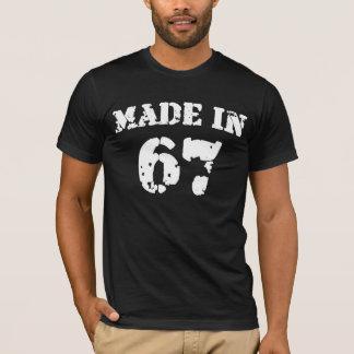 Em 1967 camisa feita