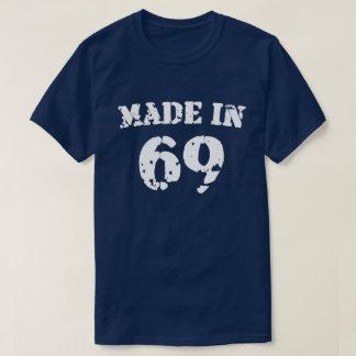 Em 1969 camisa feita
