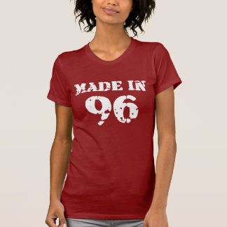 Em 1996 camisa feita