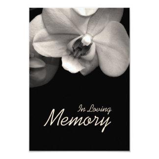 Em anúncio Loving do funeral do Sepia da orquídea