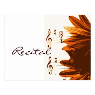 Em cartão de 3/4 de convite do considerando da