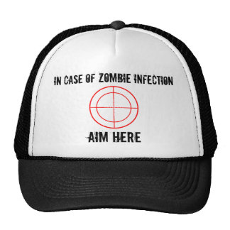 Em caso do chapéu da infecção do ZOMBI Boné