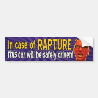 Em caso do êxtase Bumpersticker Adesivo Para Carro