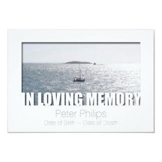 Em celebração Loving do modelo 4 da memória da Convites Personalizado