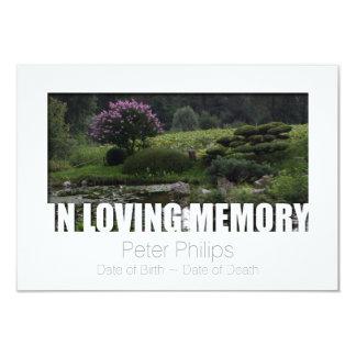 Em celebração Loving do modelo 6 da memória da Convite 8.89 X 12.7cm