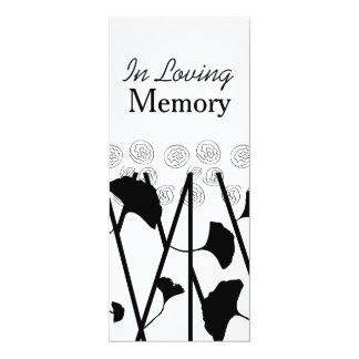 Em cerimonia comemorativa Loving da Convite 10.16 X 23.49cm