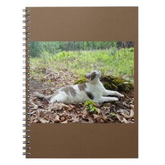 """""""Em direção ao céu"""" caderno espiral do impressão"""