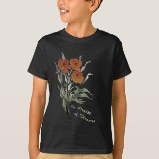 Em louvor das flores t-shirt