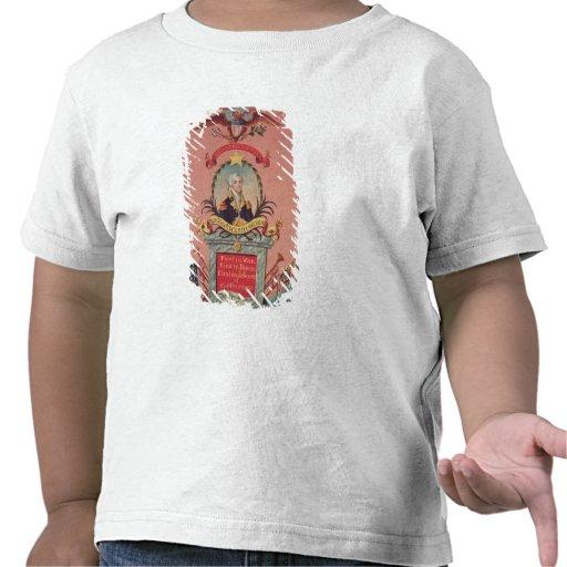 Em louvor de George Washington Camisetas