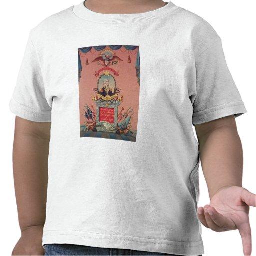 Em louvor de George Washington Tshirts