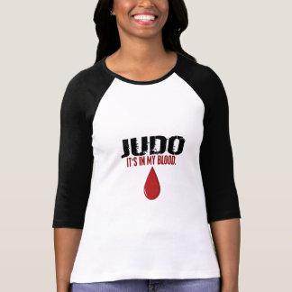 Em meu JUDO do sangue T-shirt