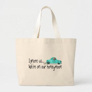 Em nossa lua de mel ignore-nos bolsa para compras