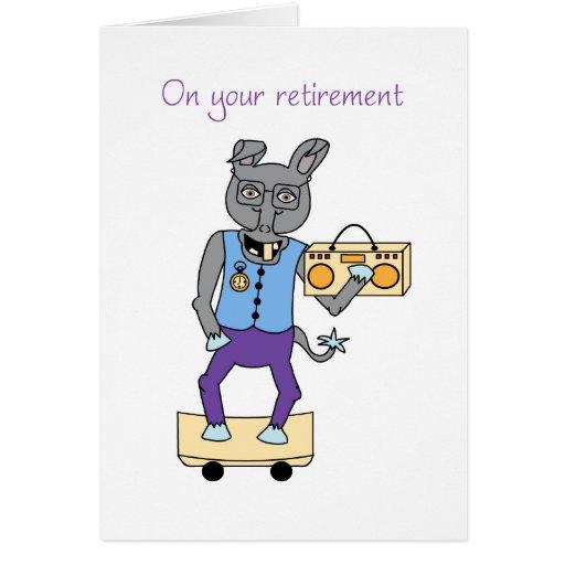Em seu cartão da aposentadoria