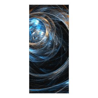 Em todo o mundo cartão da cremalheira da arte 10.16 x 22.86cm panfleto