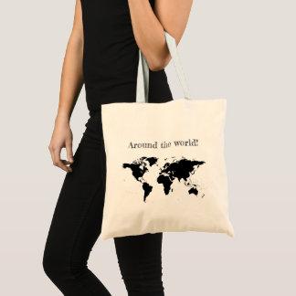 """""""Em todo o mundo"""" o bolsa"""