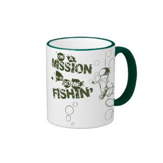 Em uma missão para fazer alguma caneca de Fishin