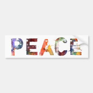 Em uma palavra: Paz Adesivo Para Carro