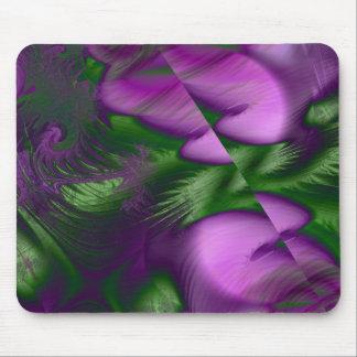 Embaçamento roxo mouse pad