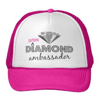 Embaixador futuro Camionista Chapéu do diamante Boné