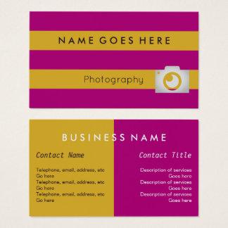 """""""Embandeira"""" cartões de visitas do fotógrafo"""