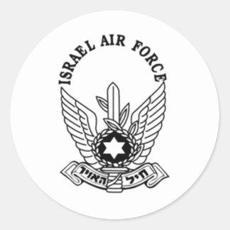 Emblema da força aérea do exército israelita ZAHAL Adesivo
