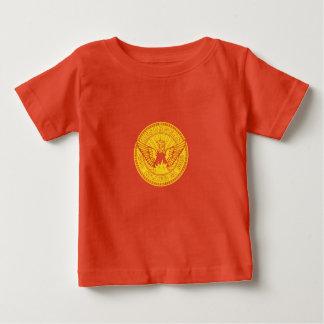 Emblema de Atlanta, Geórgia Camiseta Para Bebê