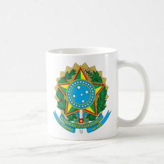 emblema de Brasil Caneca