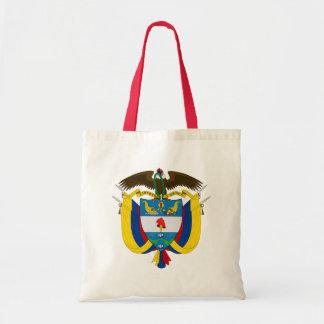 emblema de Colômbia Bolsa Tote